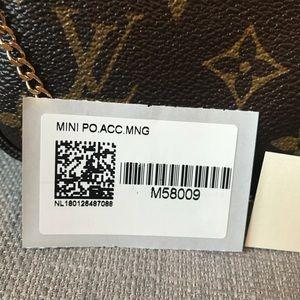 Louis Vuitton Bags - AUTHENTIC Louis Vuitton Mini Pochette